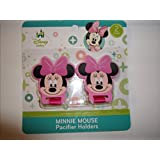 Minnie Mouse Pacifier Holders