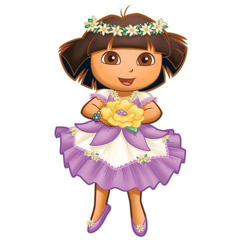 Dora Explorer Enchanted Forest Princess Wall Accent Set