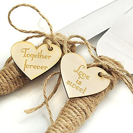 Rustic Wedding Cake Knife And Server Set Country Cutter