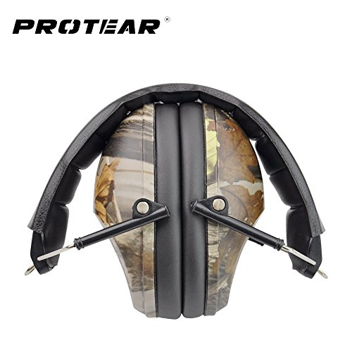 Shooting/Hunting Ear Protection - Noise Cancelling Safety Earmuffs, Lighter...
