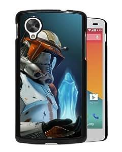 Popular Nexus 5 Case,Star Wars Art Black Google Nexus 5 Screen Phone Case Elegant and Fashion Design