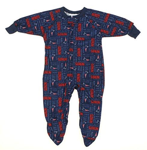 England Patriots Newborn Toddler Sleeper