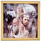 westland giftware madera MDF reloj de pared, 30.5cm, el Señor de los anillos la blanco Consejo