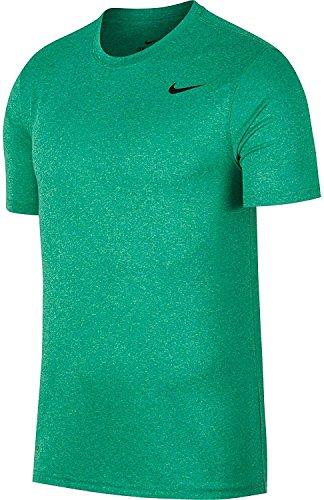 T-shirt da allenamento Nike Legend 2.0 da uomo (Nptn Grn / Illusion Grn / Htr, Large)