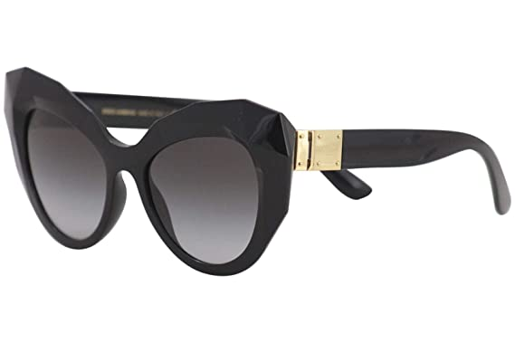 a965adb35 Amazon.com  Dolce   Gabbana Women s Geometric Oversized Cat Eye ...
