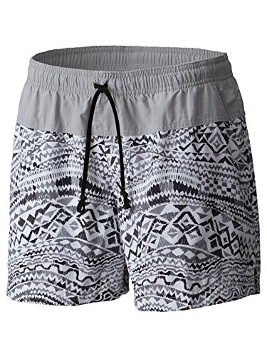 Columbia Women's Sandy River Printed Short, Black Global Wave, Sx4