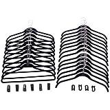 Joy Mangano 34-pc. Huggable Hangers® Combo Pack - Black