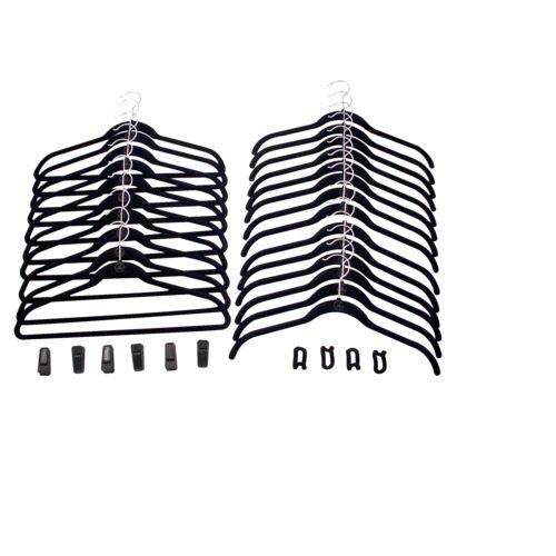 Pack Combo Hanger (Joy Mangano 34-pc. Huggable Hangers® Combo Pack - Black)