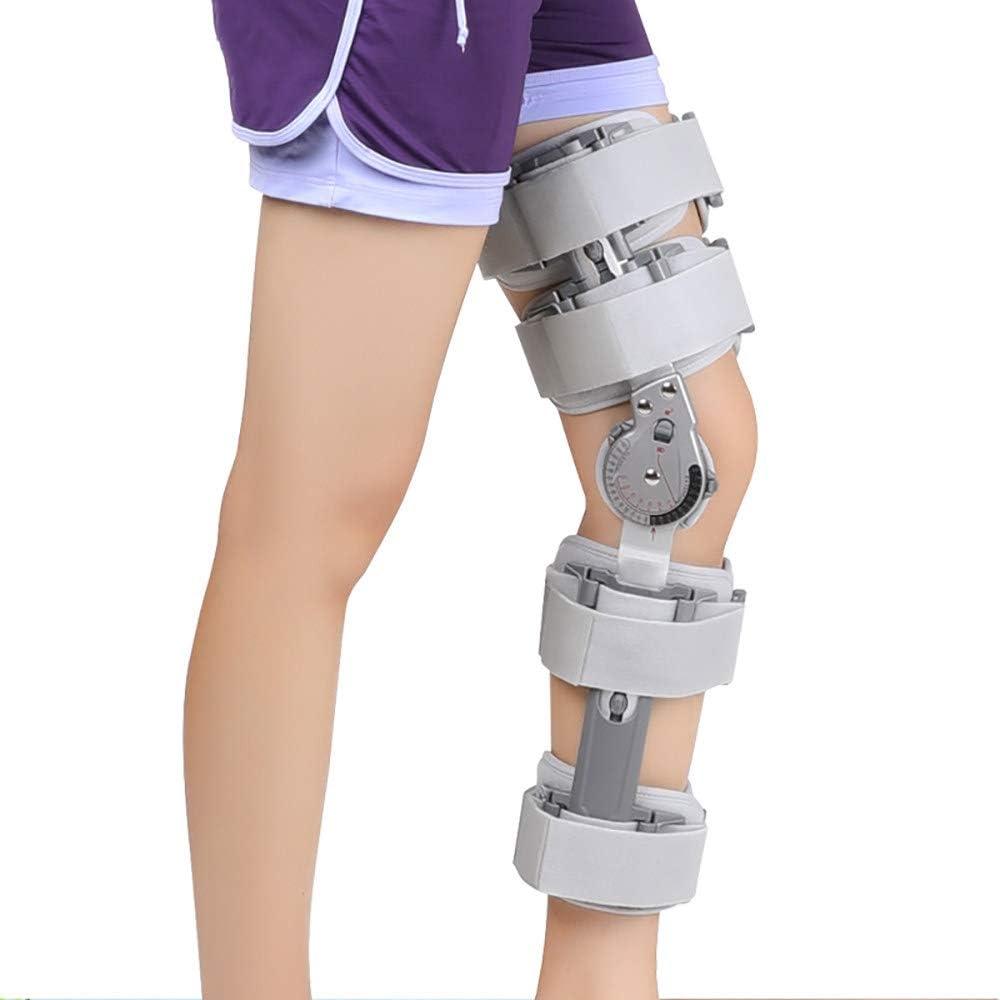 Rodillera Rotuliana Hombre, Rodillera Ortopedica Articulada, para Lesiones de LCA, LCP, tendones, ligamentos y meniscos en Hombres y Mujeres
