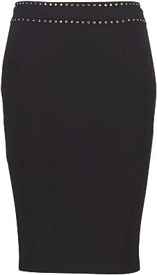 GUESS YLENIA Faldas Mujeres Negro Faldas: Amazon.es: Zapatos y ...
