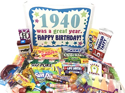 1940 Was a Great Year Candy Gift Basket
