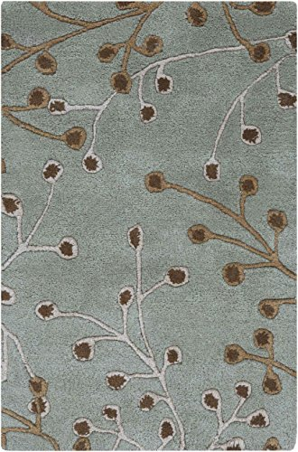 Surya Athena ATH-5058 Transitional Hand Tufted 100% Wool Slate Gray 7'6