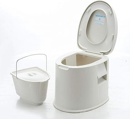 Thole Inodoro Portátil Químico Baño WC Móvil Tapa para ...