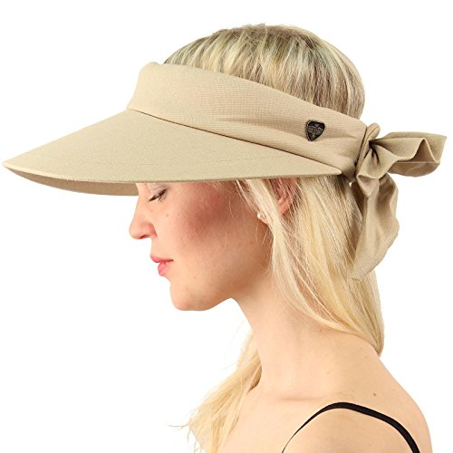 1dbe0aaff187c3 SK Hat shop Sun Protection UPF UV Wide Big Brim Linen Cotton Beach Pool  Visor Cap Hat - Buy Online in Oman. | Apparel Products in Oman - See  Prices, ...