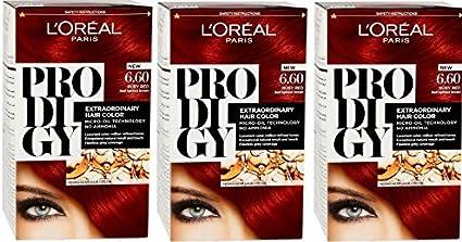 Loreal Paris Prodigy - Coloración de aceite 6.60 tinte de ...