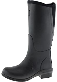Rouchette Heel ORIGINAL black Gummistiefel