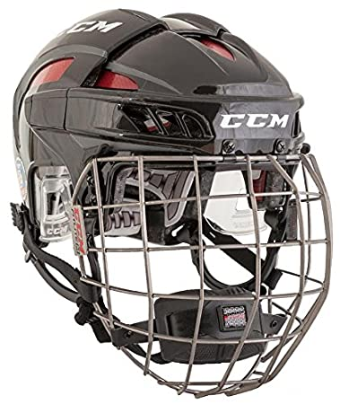 CCM New HTFLC FL80 Fitlite Hockey Helmet Adult Small in Box Navy/Silver HTFL80