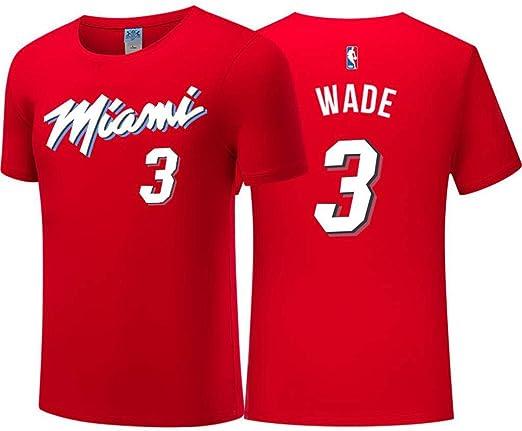 Camiseta para Hombre City Edition Wade # 3 Baloncesto Desgaste Top ...