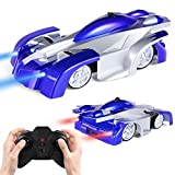 ANTAPRCIS Remote Control Car Wall Climbing Toy Car for Kids - Dual Mode 360° Rotating LED Head RC...