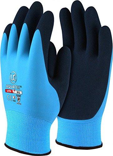 Showa 310 Green Latex Coated General Work Gloves Size 8 Medium FREE P/&P