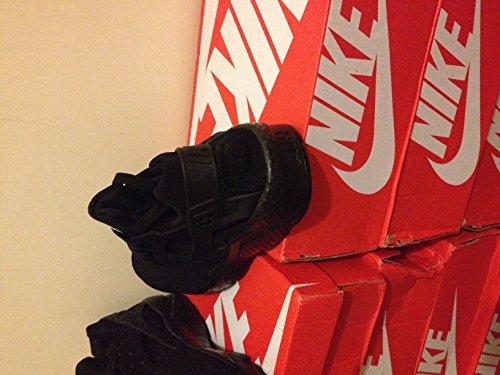 Nike Air Huarache, Scarpe da Ginnastica Uomo (Schwarz / Schwarz / Weiß)