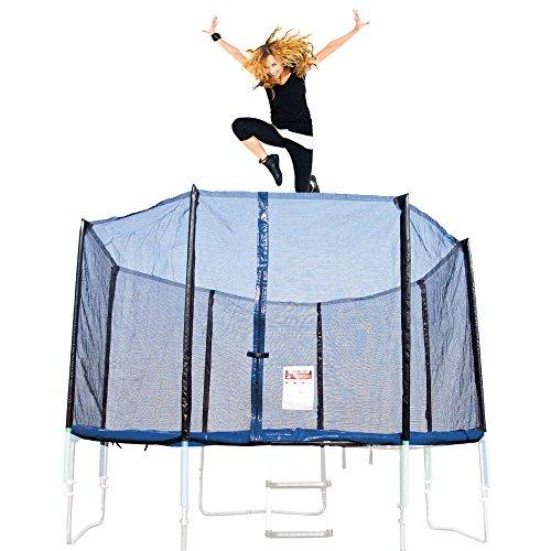 Ultrasport Trampolin Sicherheitsnetz Uni-Jump, Schwarz, 460 cm, 331300000309
