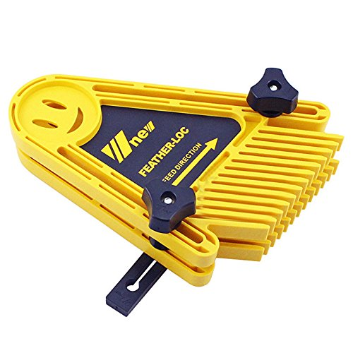 oxoxo Multi Purpose Double Feather Boards Feather Loc Board Table Saws Band Saws Router Miter Gauge Slot DIY woodwor King Tool