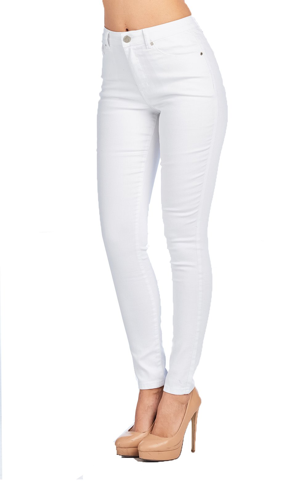 Blue Age Womes Perfect fit Well Stretch Skinny Jeans (JP0099_WH_7)