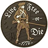 Maxpedition Live Free Or Die Patch, Arid