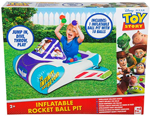 - Disney Toy Story 4 Inflatable Playpen Ball Pit Pool Indoor and Outdoor with Toddler Children Toys for Kids Gifts, Multi Colour