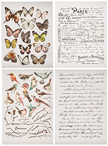 (Prima Marketing Inc Redesign Transfer - Parisian Butterflies)