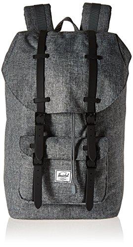 Herschel Supply Co. Little America Backpack, Raven Crosshatch/Black Rubber