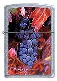 Napa Valley Vines and Wine Chrome Zippo Lighter - Artist William Boyce