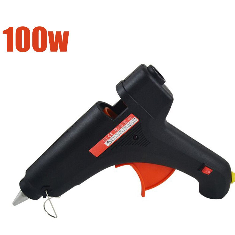 KKmoon Home-use Industrial Hot Melted Glue Machine Multifunctional DIY Rubber Machine with Independent Switch