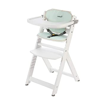 Safety 1st Timba 2760261000 Trona de madera, silla de mesa para niño, color Pop Hero [Modelo antiguo]