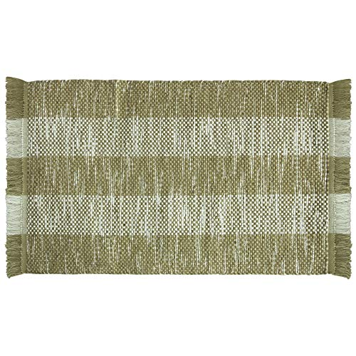 "Price comparison product image Bacova Guild 01305E Layzer Accent Rug 45""x27"" Beige"