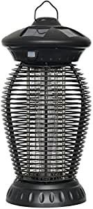 Westinghouse Electronic UV LED Bug Zapper - Solar Camping Insect Control Lantern Light, Black