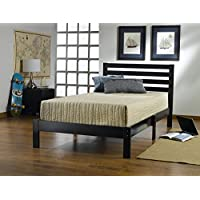 Hillsdale 1757-330 Aiden Twin Bed Set, 35.25 H x 42.25 W x 77 D, Black
