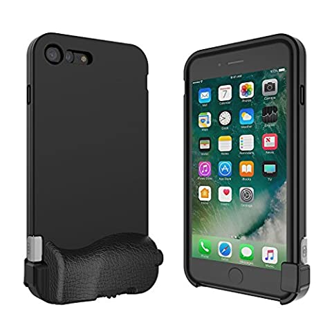 bitplay SNAP! 7 - iPhone Camera Case for iPhone 7 Plus (Lenses Not Inlcuded) - Black (High Megapixel Phone)