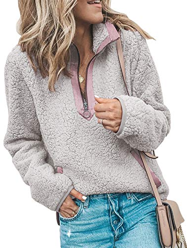BTFBM Pullover Contrast Color Block Sweatshirt product image