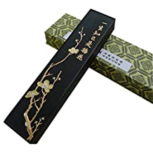 Chinese Calligraphy black decorated ink sticks