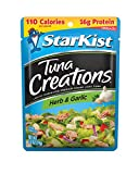 Starkist Tuna Creations 2.6oz Pouch (Pack of 12) (Herb & Garlic)