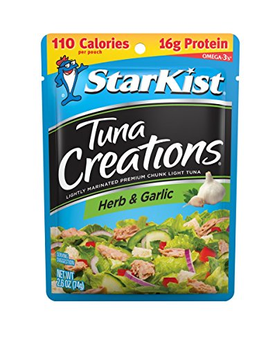 StarKist Tuna Creations, Herb and Garlic, 2.6 Ounce (Pack of 24)