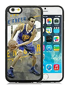 Popular And Unique Custom Designed Cover Case For iPhone 6 4.7 Inch TPU With Golden State Warriors Stephen Curry 5 Black Phone Case