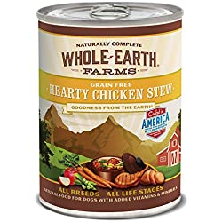 Whole Earth Farms Hearty Chicken Stew, 12.7-Ounce, Pack Of 12