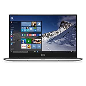 Dell XPS 13 QHD 13.3 Inch Touchscreen Laptop (Intel Core i5 5200U, 8 GB RAM, 256 GB SSD, Silver) Microsoft Signature Image