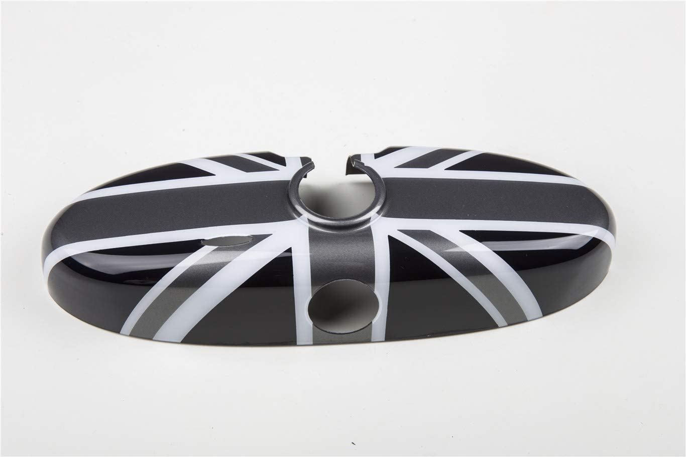 Door Handle with Key Hole 2 Pieces Black//Gold Union Jack UK Flag ABS Sticker Cover Trim Cap for Mini Cooper ONE S JCW R56 Hatchback R57 Covertible R58 Coupe R59 Roadster 2010-2016