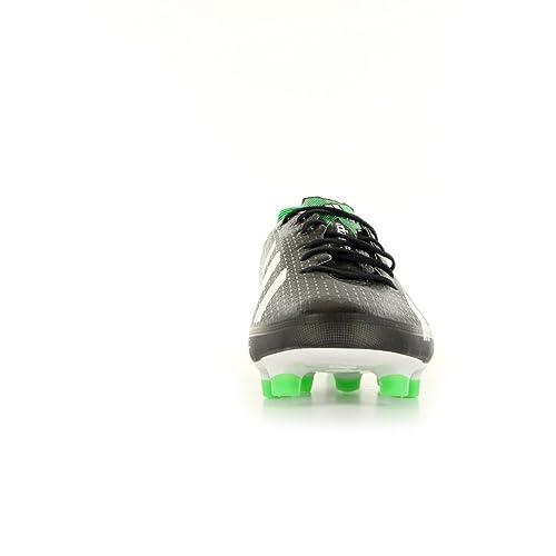 Adidas Fußballschuhe F50 adizero TRX FG black-running white-green (G65308) 40 schwarz: Amazon.es: Zapatos y complementos