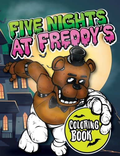 five nights at freddys coloring book for kids and adults 45 exclusive images - Five Nights At Freddys Coloring Book