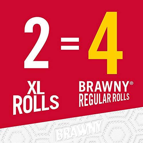Brawny Paper Towels, 16 XL Rolls, Pick-A-Size, White, 16 = 32 Regular Rolls by Brawny (Image #9)